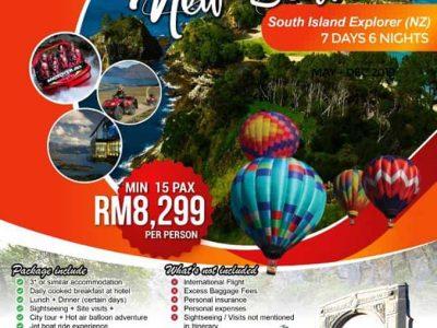 NEW ZEALAND SOUTH ISLAND GOLF ESCAPADE ⛳ Travel By MKM